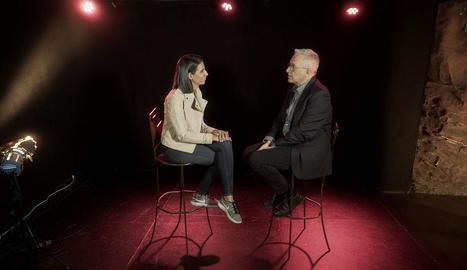Ana Pastor entrevista Xavier Sardà, 'showman' i presentador de programes de televisió als 90.