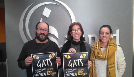 'Gats' tindrà lloc demà a l'Escorxador i recaptarà fons per al centre de dia d'Aspid.