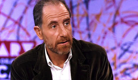 Enric Hernández, en una intervenció a 'El objetivo' de La Sexta.