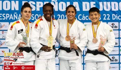 La lleidatana Ai Tsunoda, bronze a l'Estatal absolut de judo