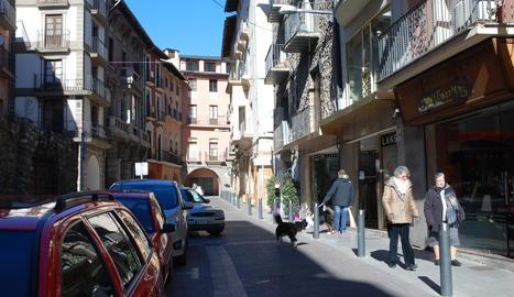Imatge d'arxiu del centre històric de la Seu d'Urgell.