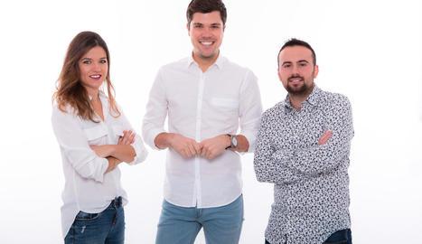 Rut Camí, Joan Cama i Aleix Bergés condueixen aquest programa.