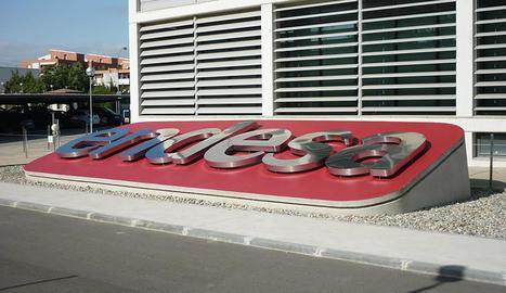 La seu d'Endesa al barri de Magraners a Lleida.