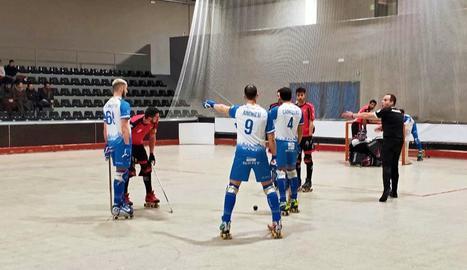 Els llistats mai es van trobar còmodes en un partit que van dominar a estones.