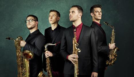 El quartet barceloní de vent Kebyart Ensemble.