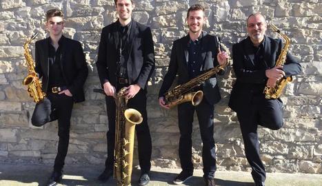 La formació de Tàrrega InMotion Jazz Quartet obrirà el festival.