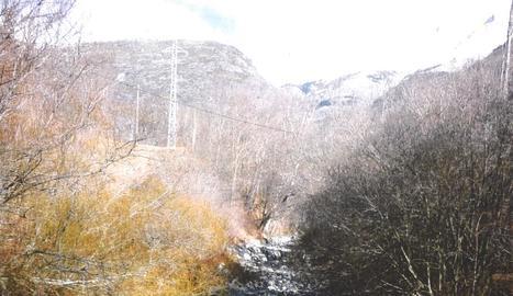Curs sec del riu Flamisell.