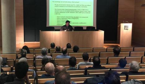 Jarc va organitzar una assemblea per informar del pla d'arrancada.