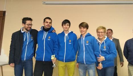 Victòria de l'Escacs Lleida a la Copa