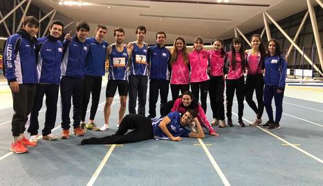 El Lleida UA aconsegueix la permanència al Català de pista