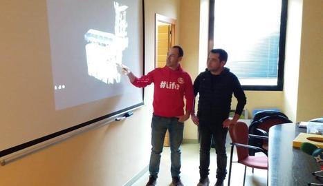 La presentació del 'tour virtual'.