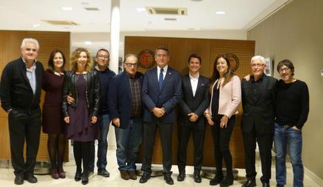Reunió del tenis de Lleida i la FCT