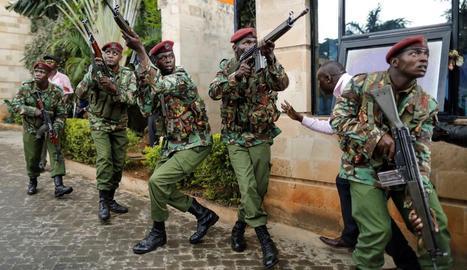 Cinc morts en l'atac a un complex hoteler a Nairobi