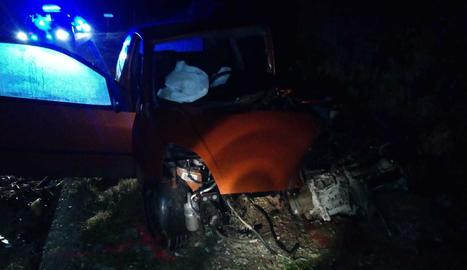 Un dels vehicles implicats en l'accident mortal a Talavera