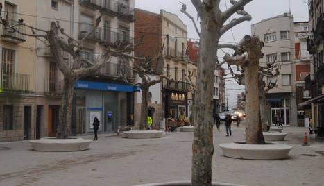 La plaça Major, una de les últimes zones reformades del centre.