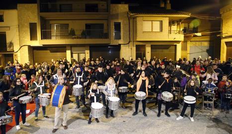 Tamborinada de l'any passat a Torrelameu.