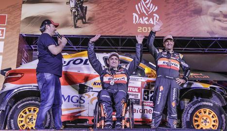 Isidre Esteve torna avui del Perú al repetir la 21a posició en cotxes