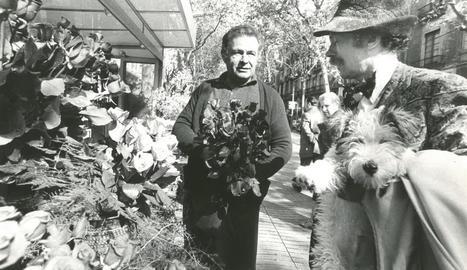 celebritat. Ramon Cabau era un habitual de la premsa d'arreu del món.