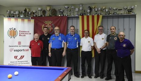 Lleida acull la final del Català de billar de la modalitat banda