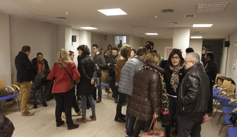 El sector crític, en l'última reunió a Lleida el desembre passat.