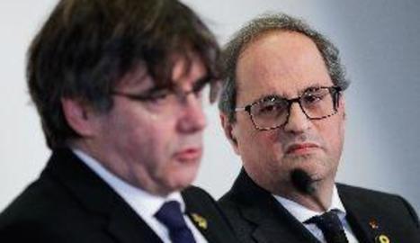 Puigdemont tempteja Talegón per afegir-se a una candidatura per a les europees