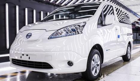 Nissan Motor Ibérica (NMISA) va tancar l'exercici del 2018 produInt 6.000 unitats de la furgoneta 100% elèctrica e-NV200, un 50% rmés que el 2017.