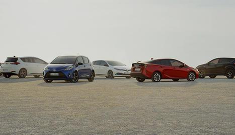 Tres de cada quatre vehicles venuts per Toyota i Lexus a Espanya van ser models híbrids elèctrics.