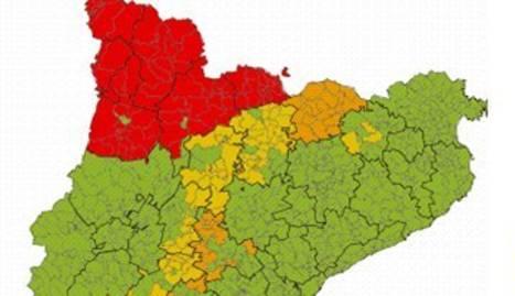 Alerta de nevades intenses al Pirineu de Lleida