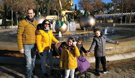 L'Ares va acurdir al parc amb tota la família.
