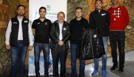 La cinquena edició del circuit Mitges de Ponent va ser presentada ahir a la Diputació.
