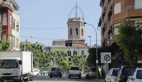 Vista recent del municipi de Tremp.
