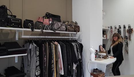 La botiga OKI de roba de dona i complements, a la Bordeta.