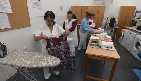 Un taller on es formen parades de llarga durada, a Sevilla.