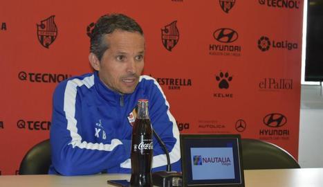 L'entrenador del Reus, el lleidatà Xavier Bartolo.