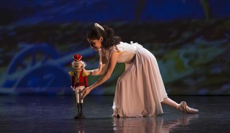 Una de les representacions d''El Trencanous' de la nova companyia Ballet de Catalunya.