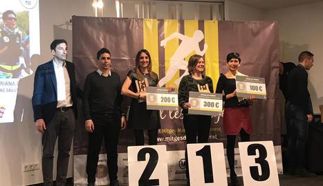 Les Mitges de Ponent coronen els seus campions del 2018