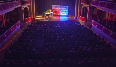 El concert va omplir de públic el Teatre Ateneu.