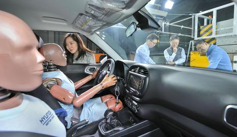 Millorarà significativament el rendiment dels airbags en aquest tipus d'accidents.