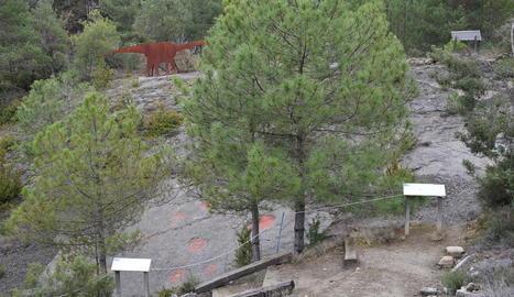 El mirador ha estat objecte d'obres de reconstrucció de l'entorn.