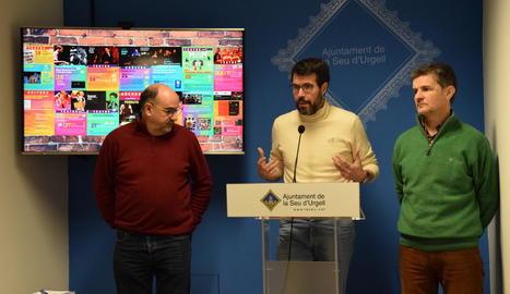 L'ajuntament va fer pública ahir l'agenda cultural.