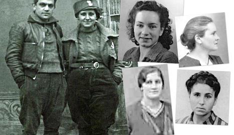Guerrilleres a la resistència - Totes les lleidatanes deportades a Ravensbrück van lluitar a la resistència francesa durant la Segona Guerra Mundial. No només van estar en aquest camp, també van passar per Dachau, Bergen-Belsen, Mathausen o Ne ...