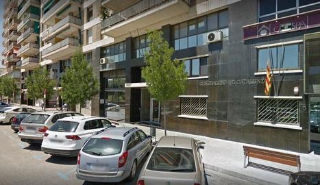 Seu de la conselleria d'Assumptes Socials i Famílies a Lleida.