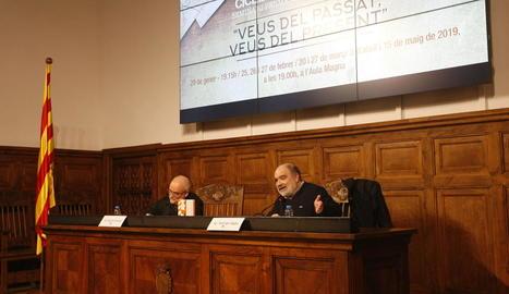El filòsof Ferran Sáez obre a l'IEI un cicle sobre història i present