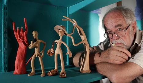 Rodolfo Pastor, al capdavant de l'estudi homònim amb Petra Steinmeyer, premi Animac a la Trajectòria.