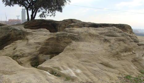 Imatge de la zona dels Trullets de Benavent.