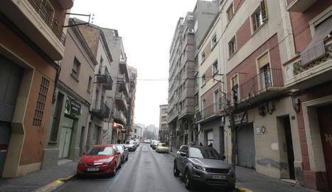 Un dels carrers del barri del Clot.
