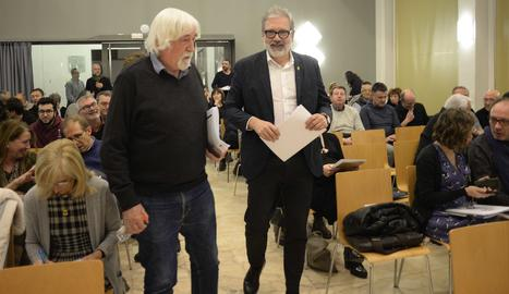 El alcalde, Fèlix Larrosa, presidió la constitución del Consell Municipal de Cultura.