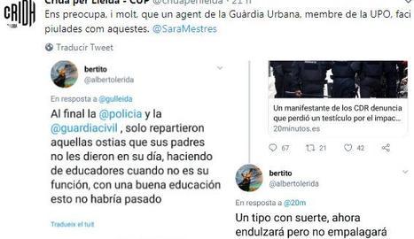 La Crida denuncia piulades d'un policia local contra els CDR i la Urbana nega que sigui un agent
