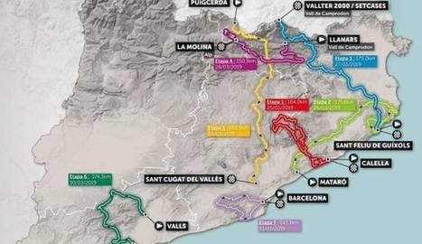 Denuncien que la Volta Ciclista a Catalunya 'passa' de Lleida
