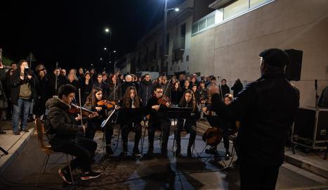 El carrer Darrere de Sant Martí es converteix en el de l'Orfeó Lleidatà